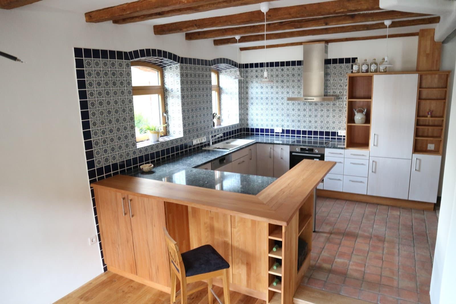 Küchen mit Farbakzenten - Henche Möbelwerkstätte