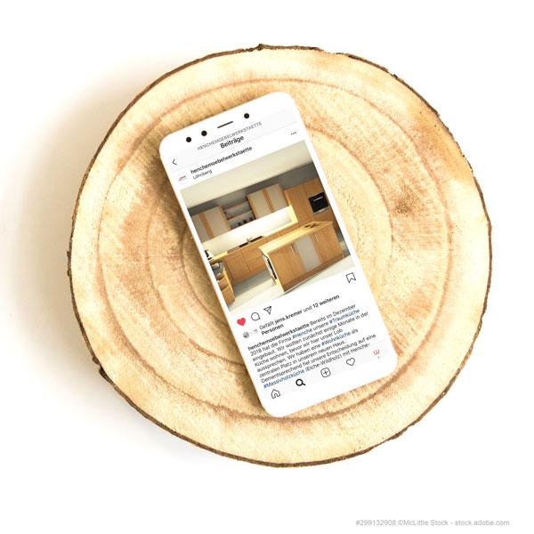 Impressionen der Henche Massivholzküchen jetzt auch auf Instagram