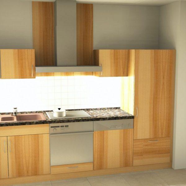 Wir haben sehr viel Freude mit dieser schönen und praktischen Küche