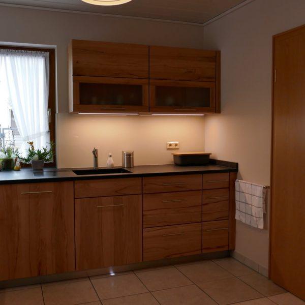 Die Küche stellt ein echtes handwerkliches Highlight dar